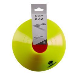 12 markeerhoedjes voor tennisterrein