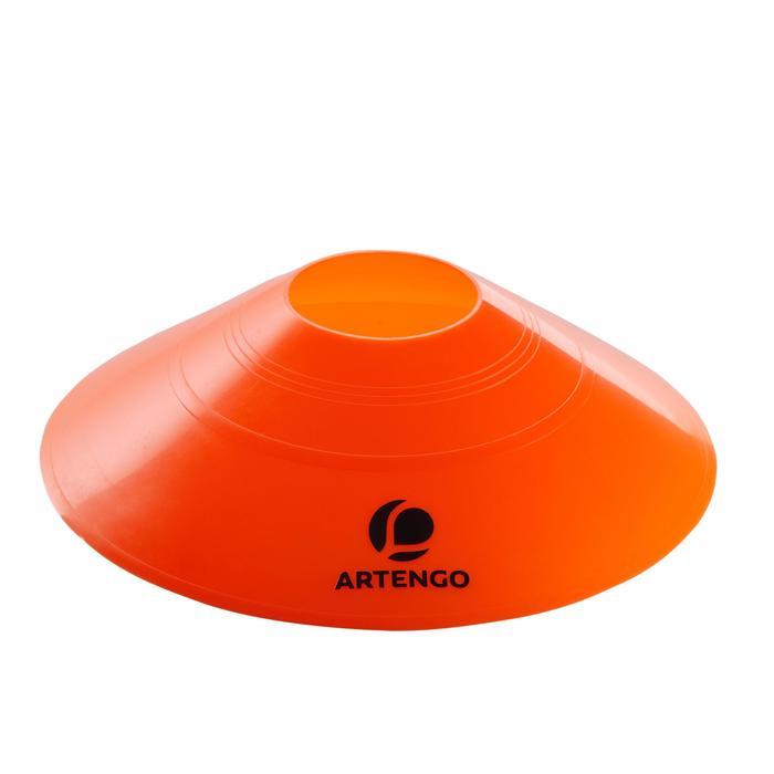 Spielfeld-Abgrenzungselemente Kegel für Tennisplatz 12er Pack
