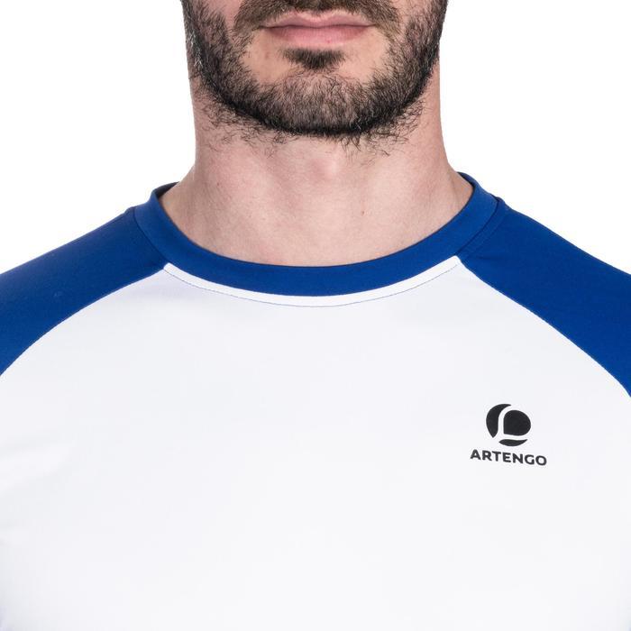 Thermisch shirt wit blauw