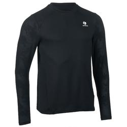 Shirt Herren warm schwarz