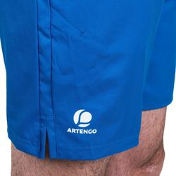 Tennisshort heren Dry 500 blauw