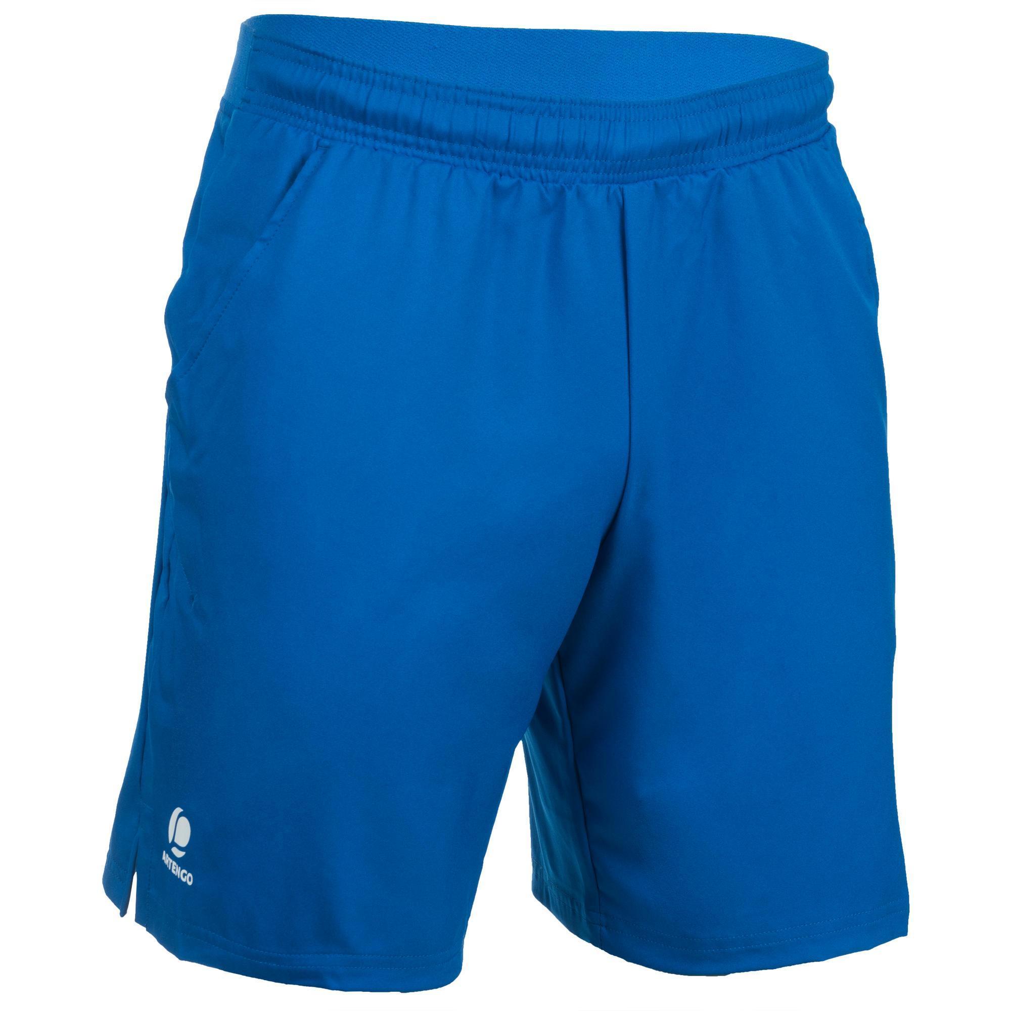 Artengo Tennisshort heren Dry 500 blauw