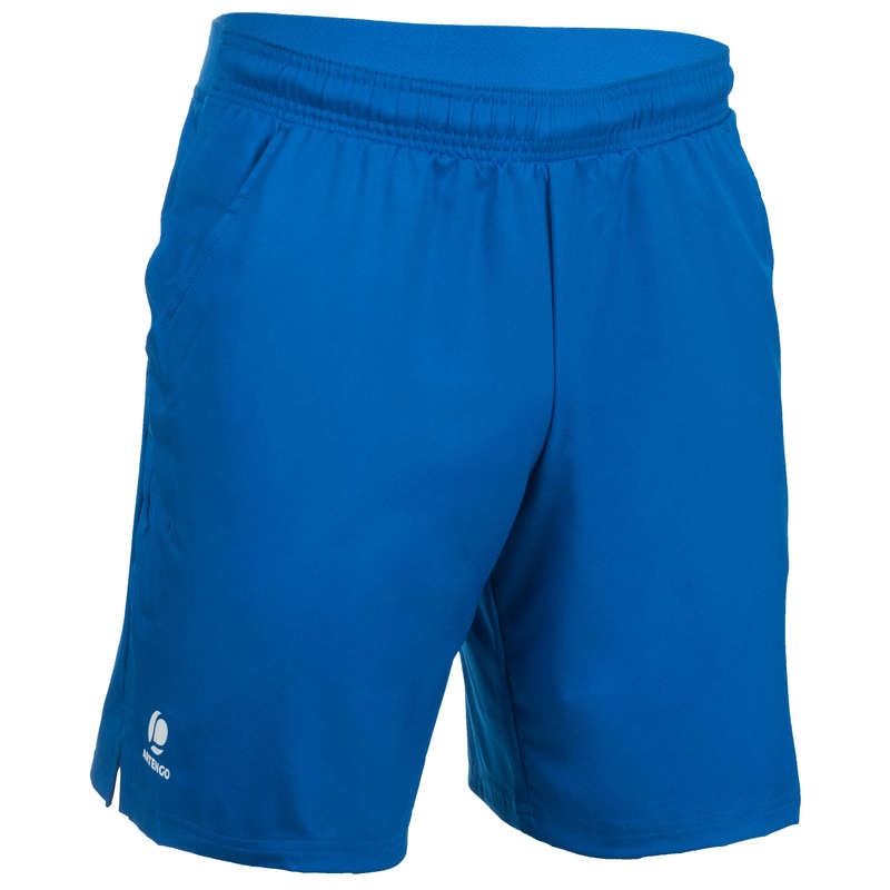 MEN WARM CONDITION RACKET SP APAREL Squash - Dry 500 Shorts - Blue ARTENGO - Squash Clothing