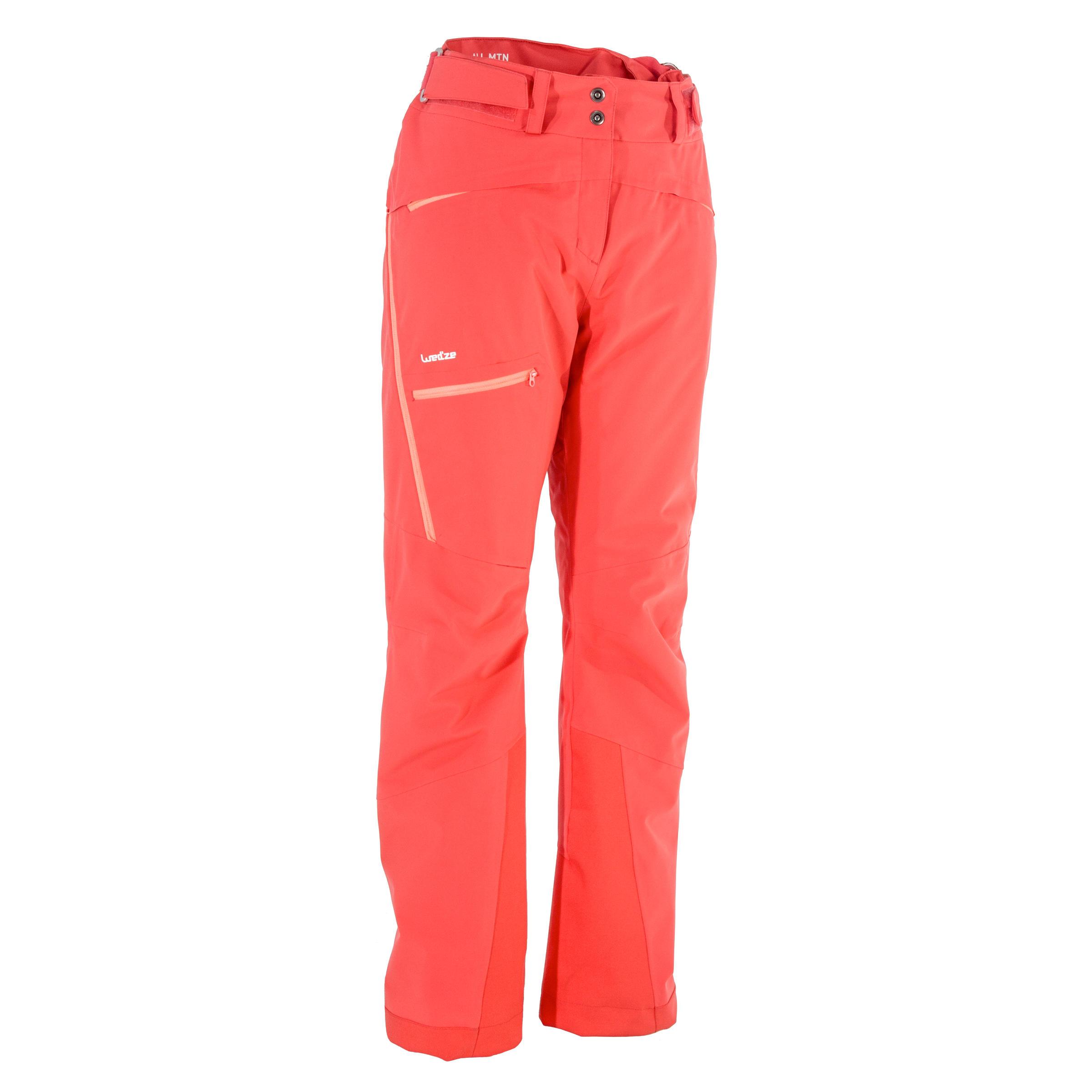 Skihose Allmountain 900 Damen koralle | Sportbekleidung > Sporthosen > Skihosen | Rosa | Wed´ze