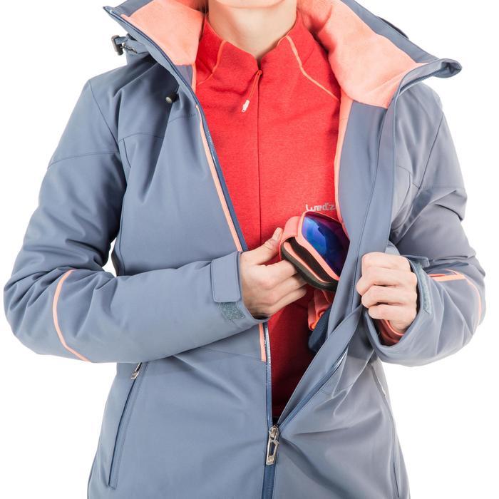 Skijacke All Mountain 580 Damen blau