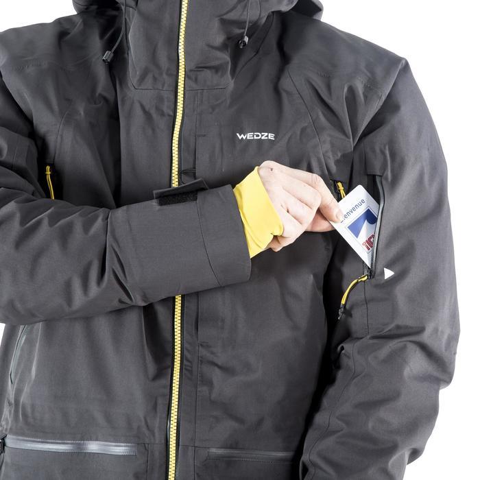 Skijacke Freeride 3-in-1 Herren SFR 900 grau