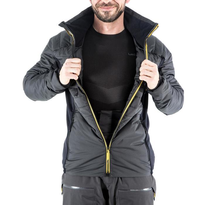 Sous-veste doudoune ski freeride homme SFR ACTIV 900 grise