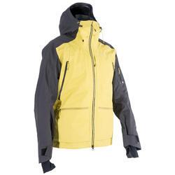 Heren ski-jas voor freeride SFR 900 grijs oker