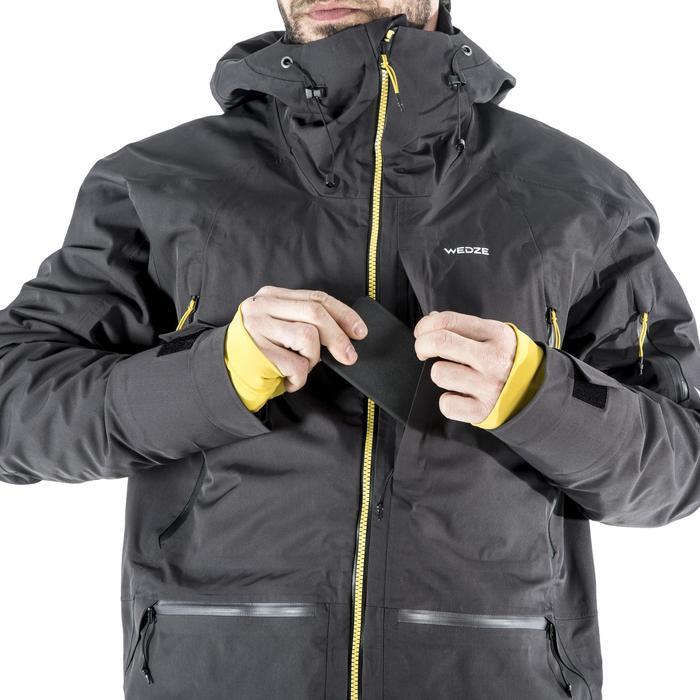 Veste 3 en 1 de ski freeride homme SFR 900 grise