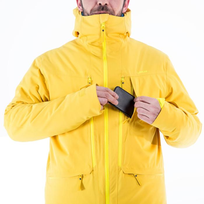 Veste de Ski All Mountain Homme AM900 Jaune