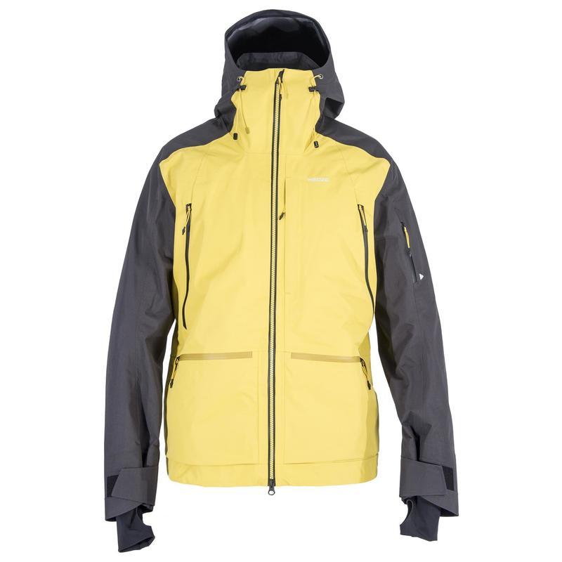 Sfr 900 Men S Freeride Ski Jacket Grey Ochre Wedze 70a193601