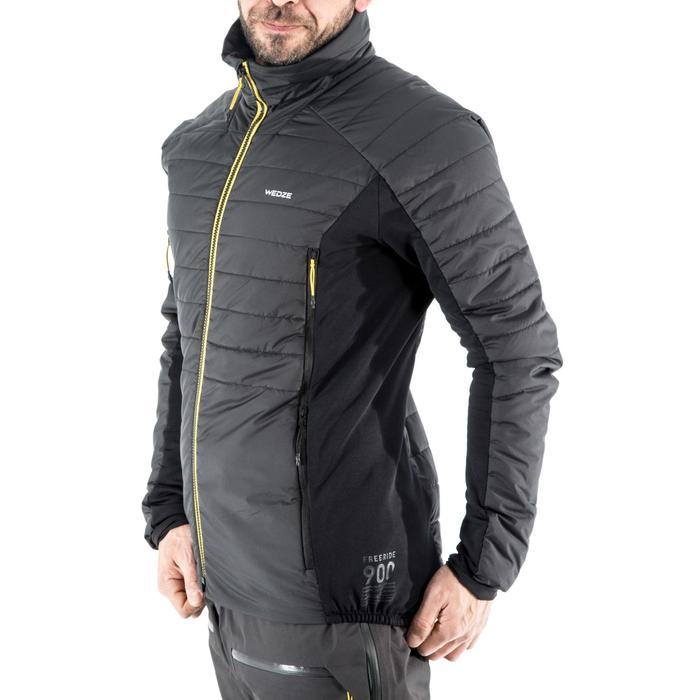 Sous-veste ouaté de ski freeride homme FR 900 grise