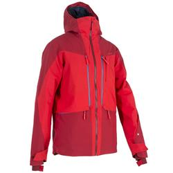 Chaqueta de esquí All Mountain hombre AM900 rojo