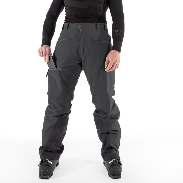 Skihose All Mountain 900 Herren schwarz