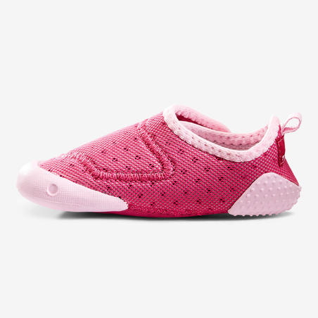 500 Baby Light Gym Booties - Fuchsia Pink