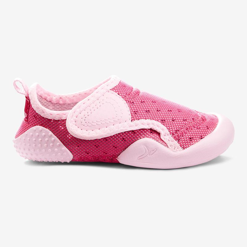 Giày Slipper tập Baby Gym Baby Light - Hồng vân anh