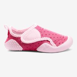 Zapatillas Gimnasia infantil Light rosa fucsia