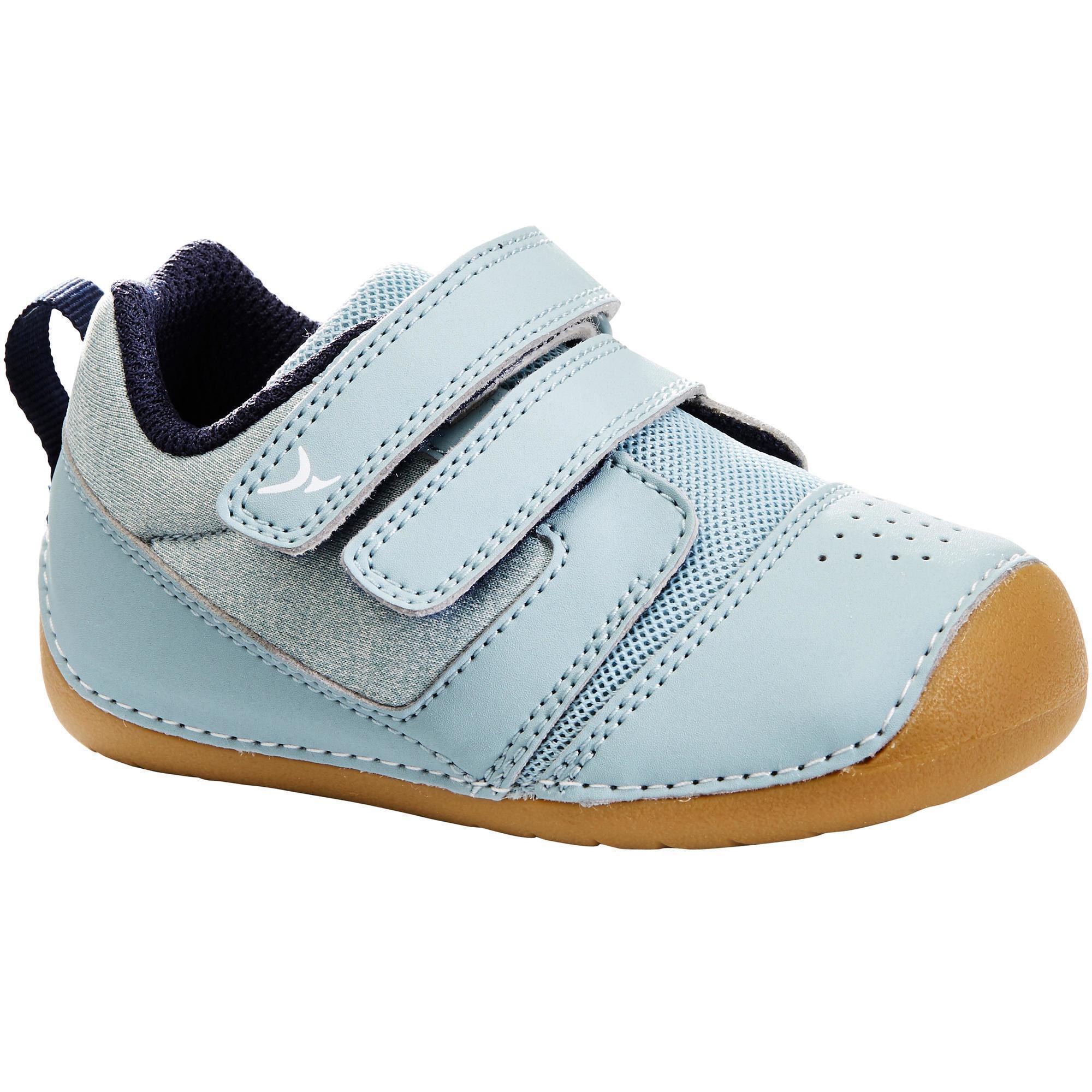 I Learn Gym Shoes - Green/Grey | Domyos