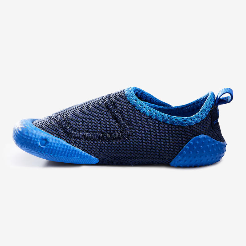 500 Baby Light Gym Bootees - Blue