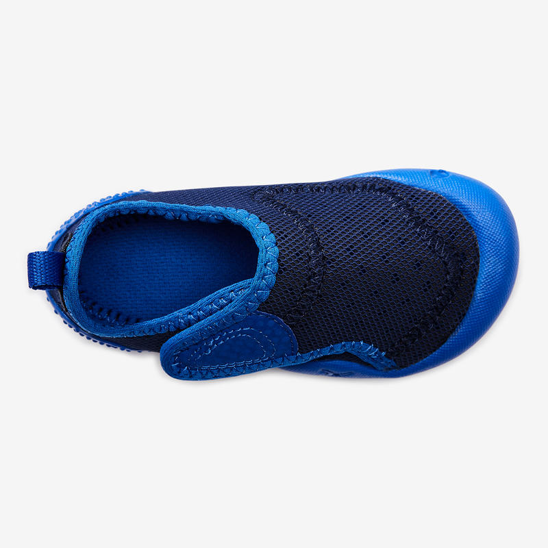 Baby Light Shoes Gym Slippers - Blue