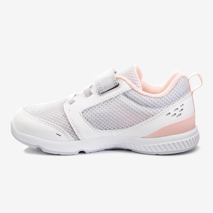 Gymschoenen I Move Breath wit roze