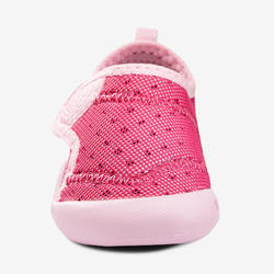 500 Baby Light Gym Bootees - Fuchsia Pink