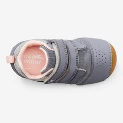 Chaussures gym I LEARN GRIS ROSE