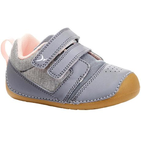 71e55f90dfe Chaussures gym I LEARN GRIS ROSE