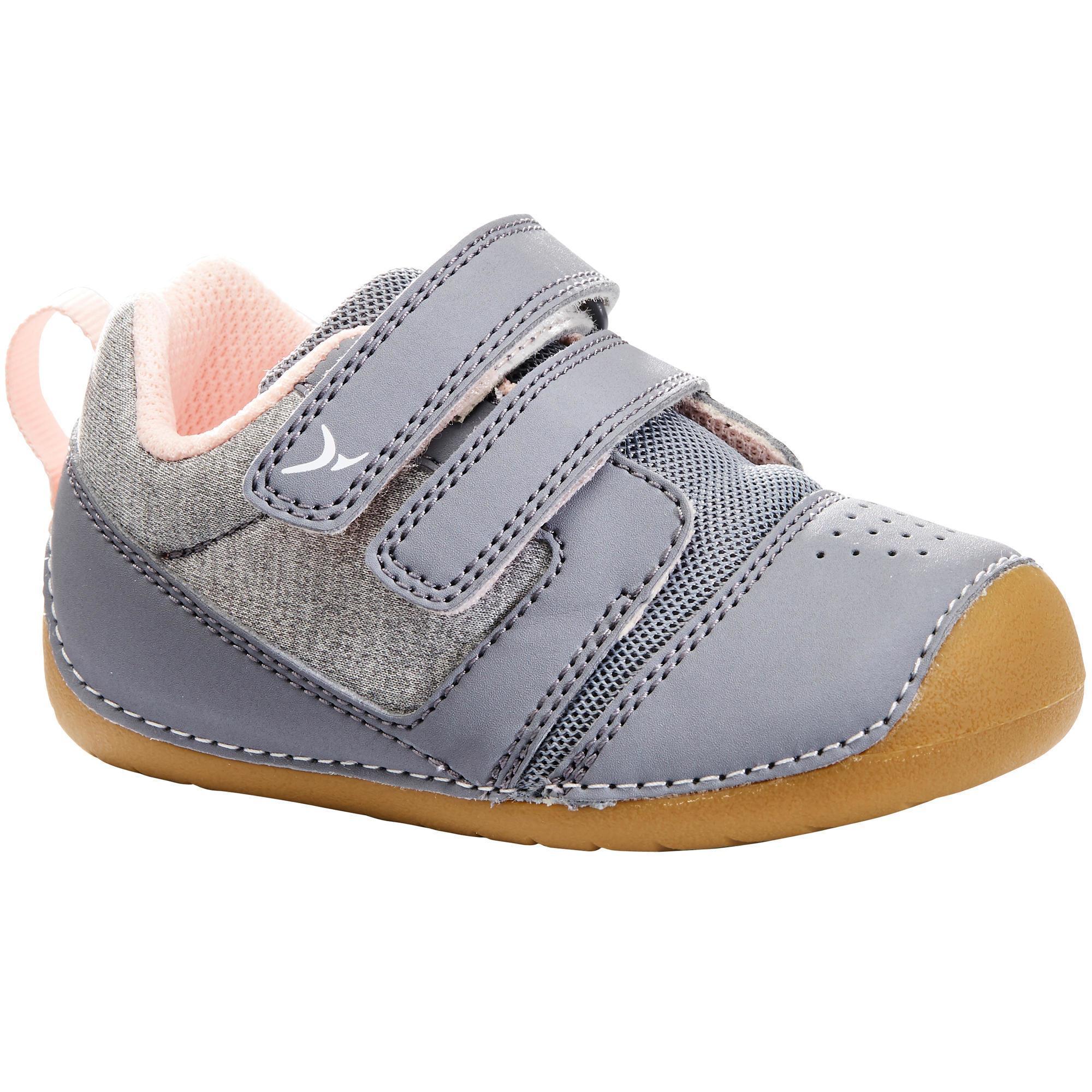 Baby,Kinder,Jungen,Kinder Turnschuhe I Learn Gym Baby grau/rosa | 03608419187991
