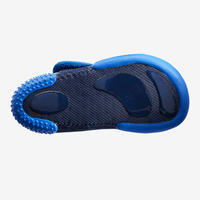 500 Baby Light Gym Booties - Blue