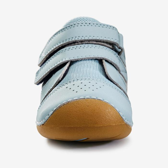 Zapatillas gimnasia I LEARN VERDE GRIS