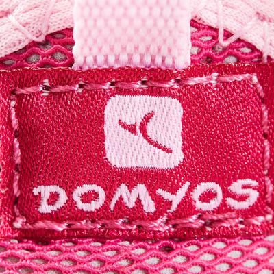 Tenis Bebé primeros pasos tallas 20 al 30 Domyos BabyLight 500 rosado