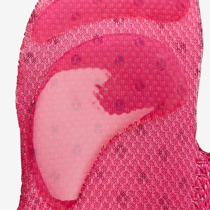 Zapatillas primeros pasos 500 BABYLIGHT GYM rosado fucsia