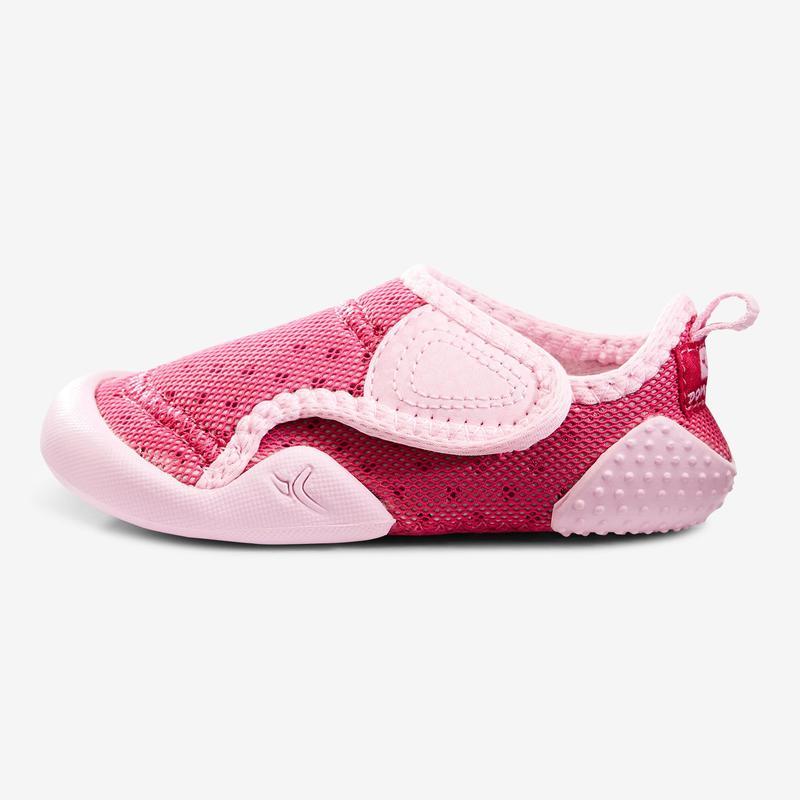 timeless design ae589 26ab1 Babyschuhe - Turnschuhe 500 Babylight Turnen rosa/pink