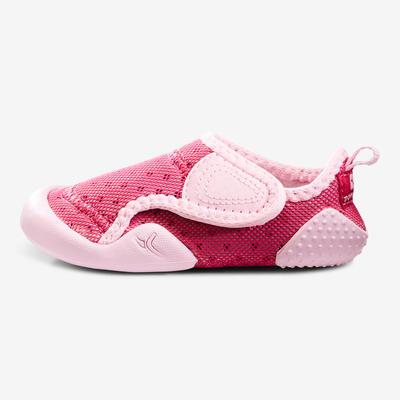 Baby Light נעלי התעמלות לתינוקות - ורוד פוקסיה.