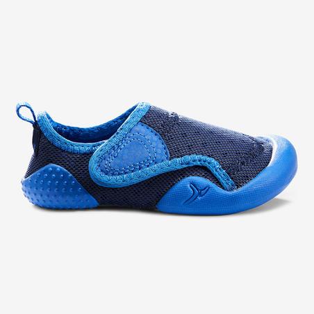 Calzado Bebé primeros pasos Domyos BabyLight 500 azul tallas 20 al 30