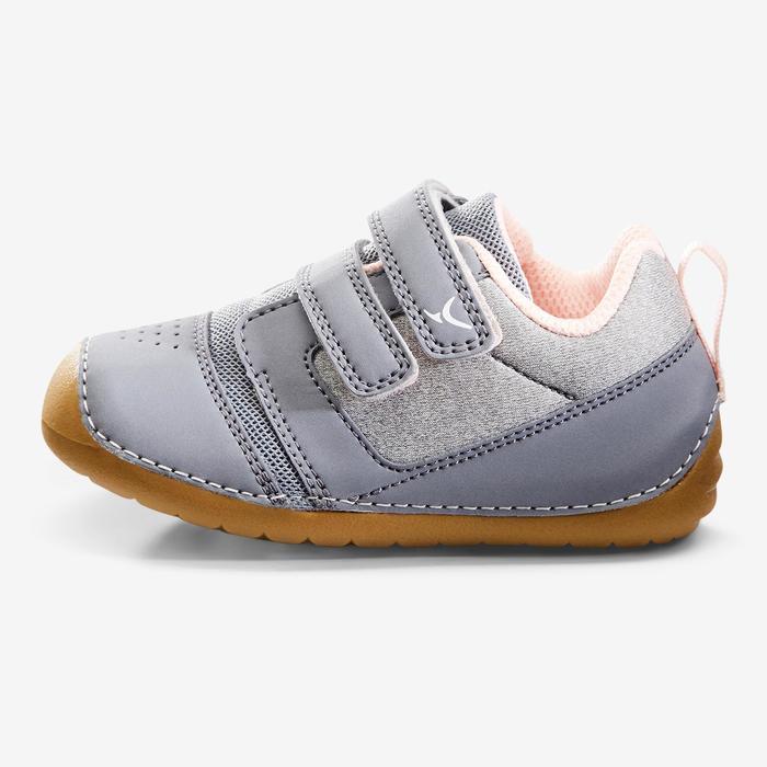 Turnschuhe I Learn Gym Baby grau/rosa