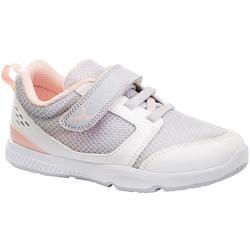 d1cd2e3c9 Zapatillas Gimnasia Bebé Domyos Move Breath Bebé Blanco Rosa