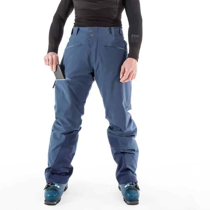 20d8ac7d343b5a AM900 Men's All Mountain Ski Trousers - Blue - Decathlon