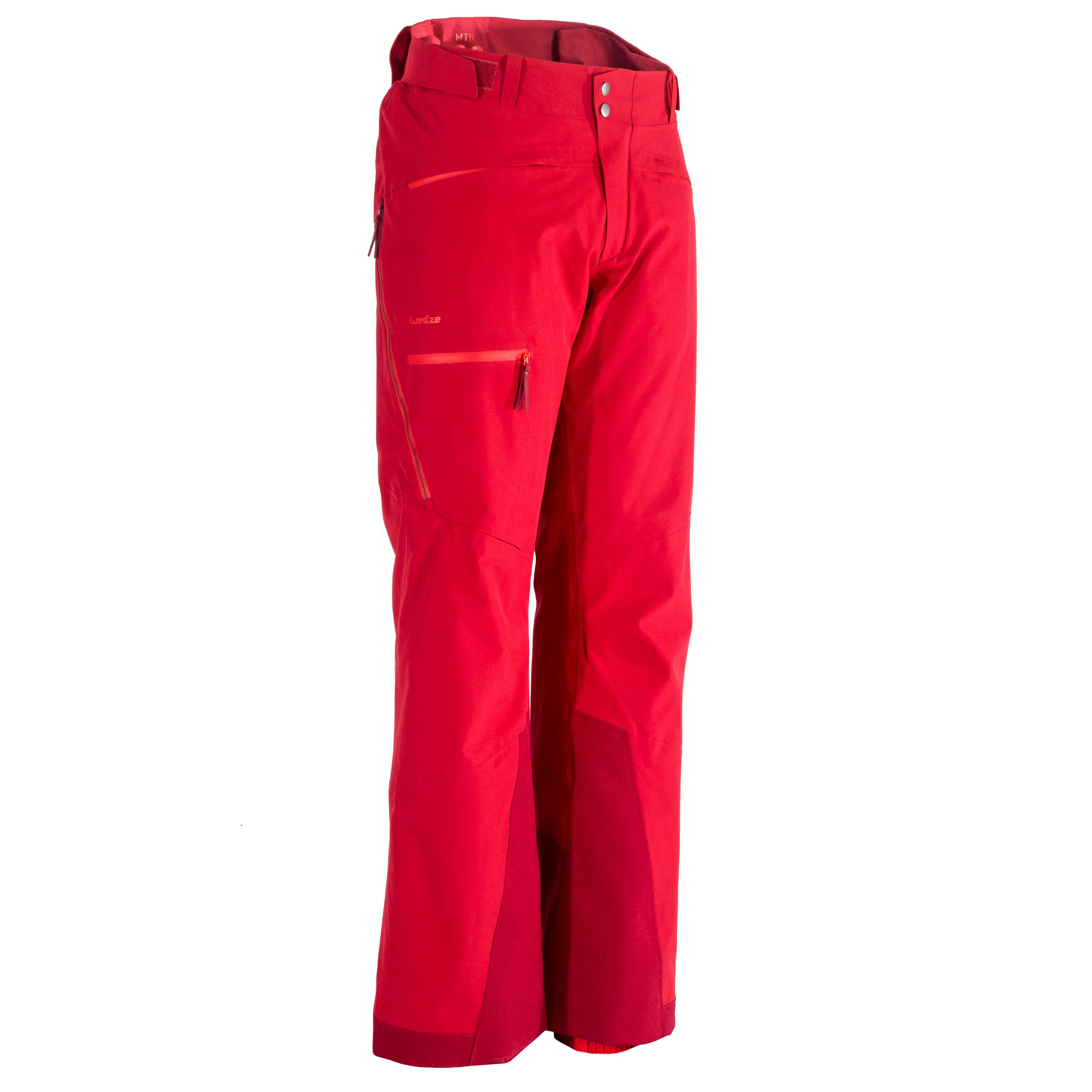 Pantalon de Ski toute montagne Homme AM900 Bordeaux
