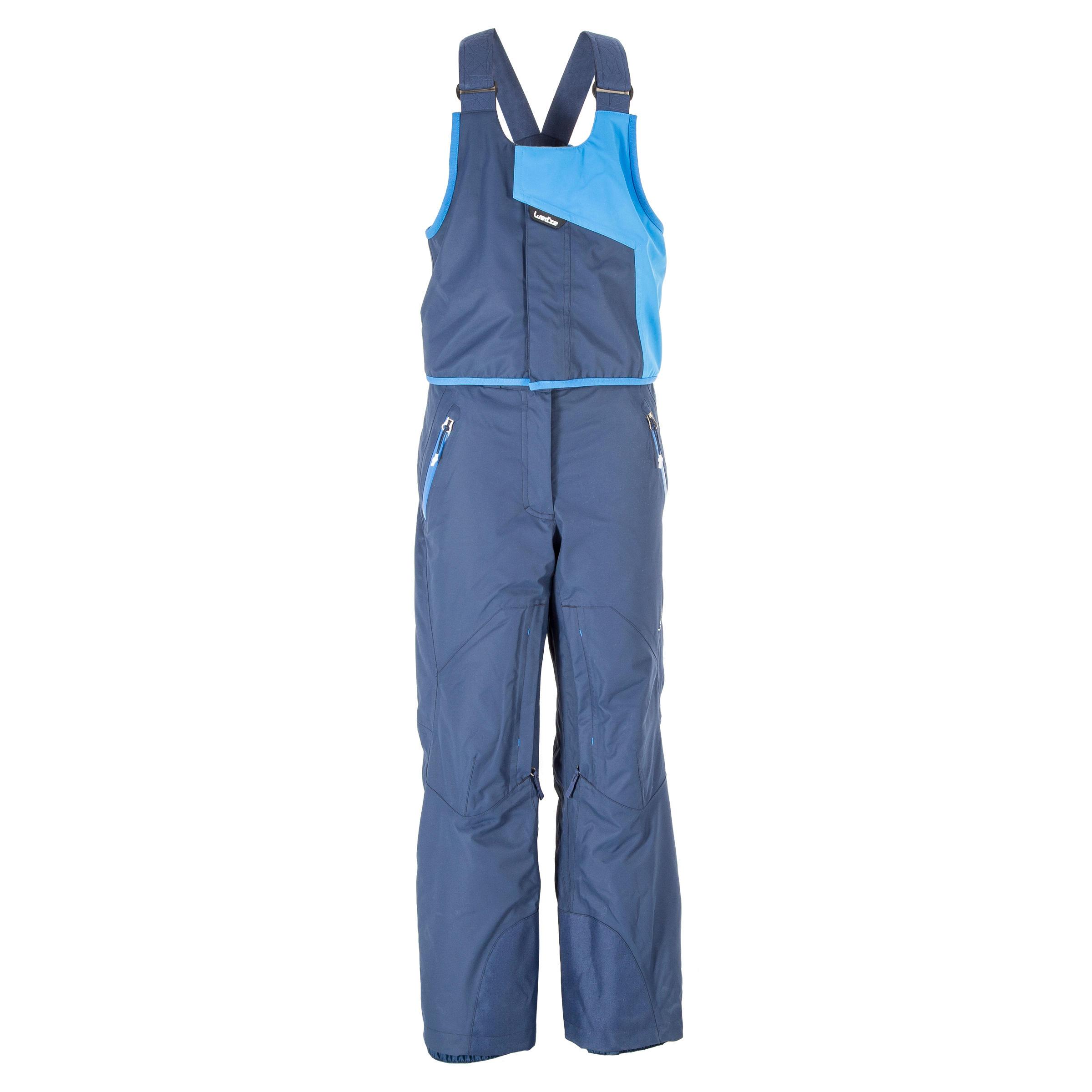 Pantalon de ski Toute montagne enfant 990 bleu