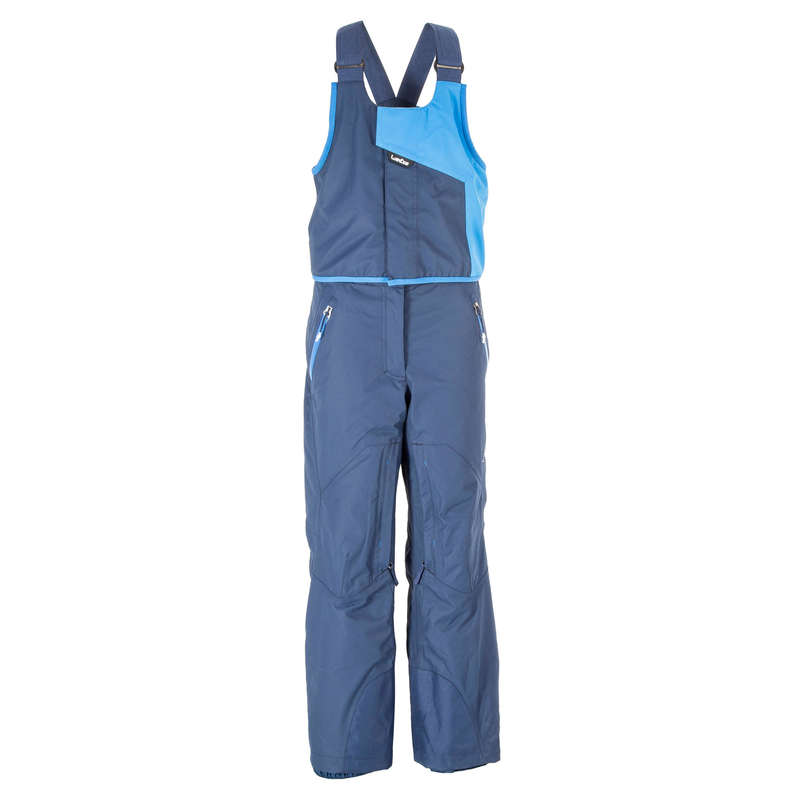 CHILDREN'S FREERIDE SKIIG CLOTHING - 990 Jr AM Ski Trousers - Blue WEDZE