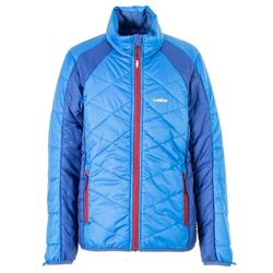 Skijacke All Mountain Kinder 990 blau bordeaux
