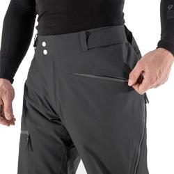Pantalon de ski Freeride et randonnée libre homme FR 900 gris