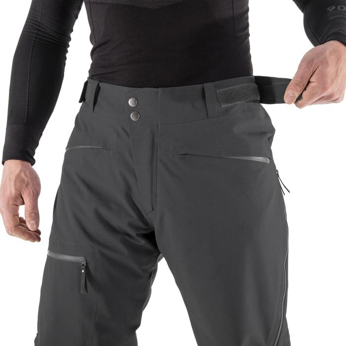 Skibroek voor heren Freeride FR500 zwart
