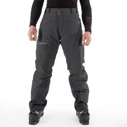 Men's Freeride and Freerando Ski Trousers FR 900 - Grey