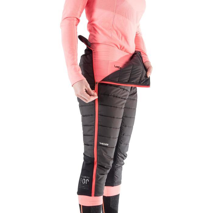 Dames ondershort voor freeride skiën SFR 900 zwart