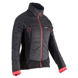 Dames midlayer voor freeride skiën SFR 900 zwart