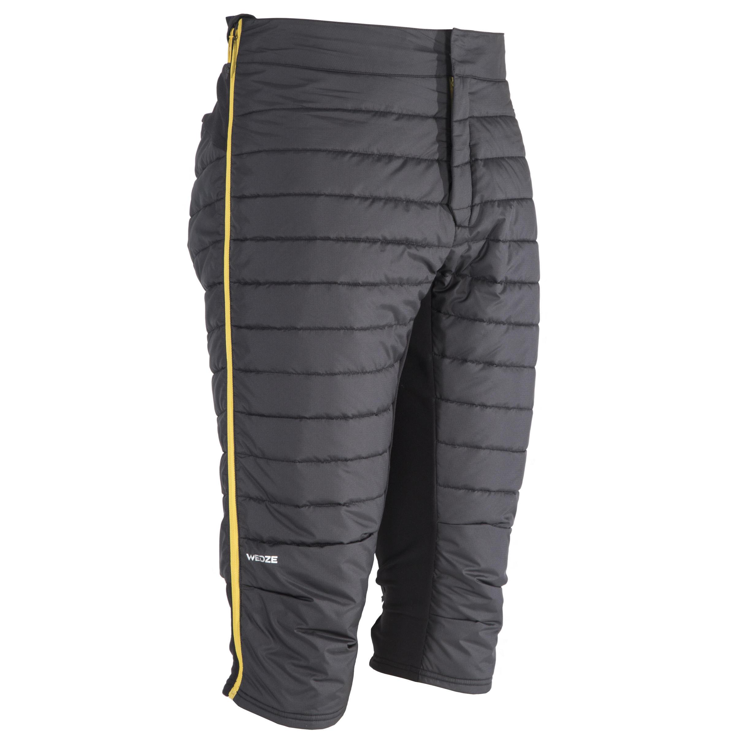 Skiunterhose Activ 900 Herren grau | Sportbekleidung > Funktionswäsche > Thermounterwäsche | Grau - Schwarz | Wed´ze