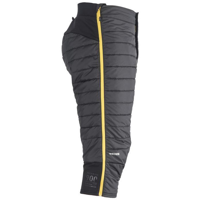 Short térmico esquí freeride hombre ACTIV 900 gris